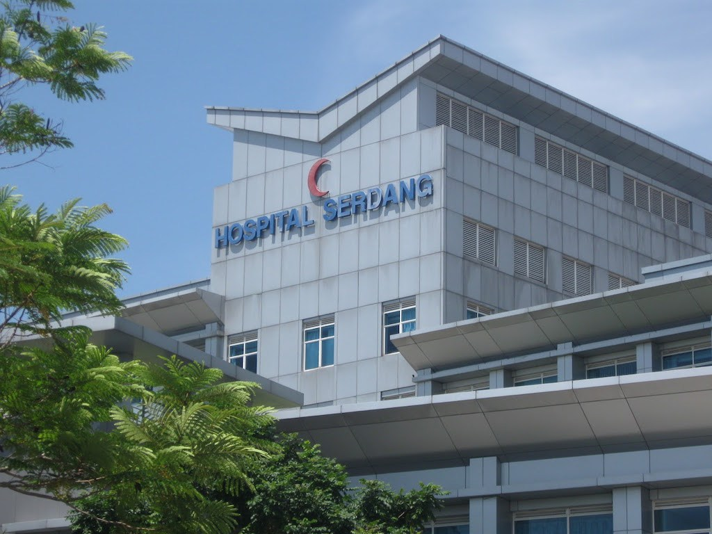 Image of the Hospital Serdang used for illustration purposes only.