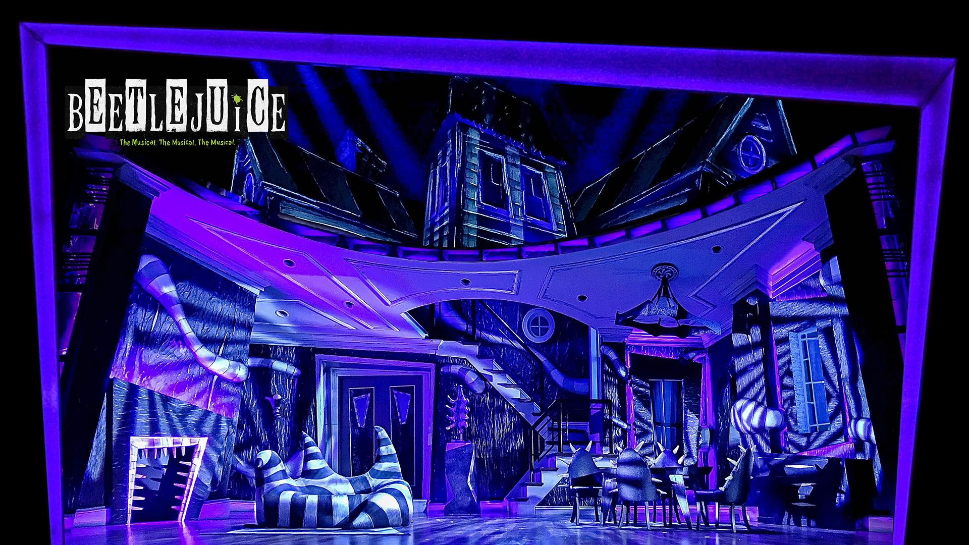 Image from Beetlejuice Broadway