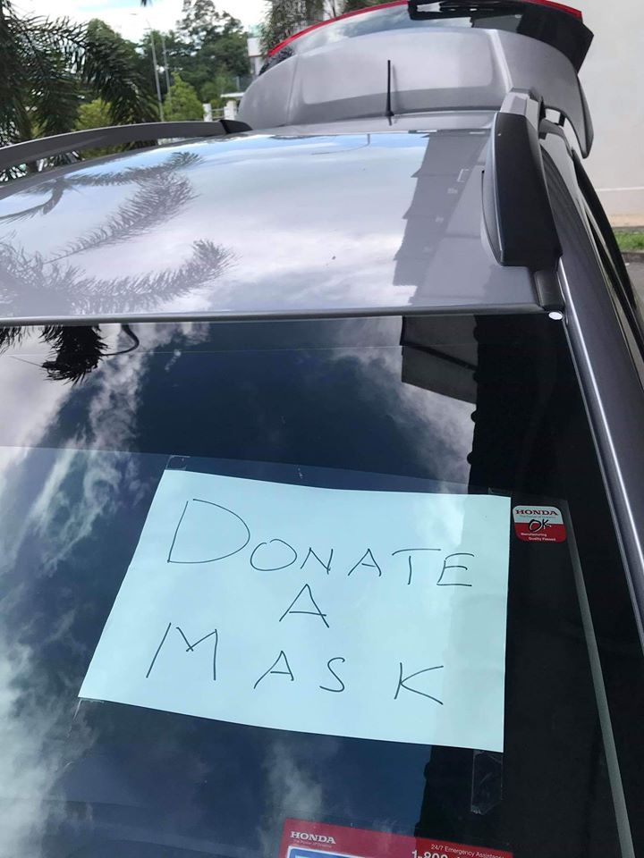 Image from Donate A Mask/Facebook