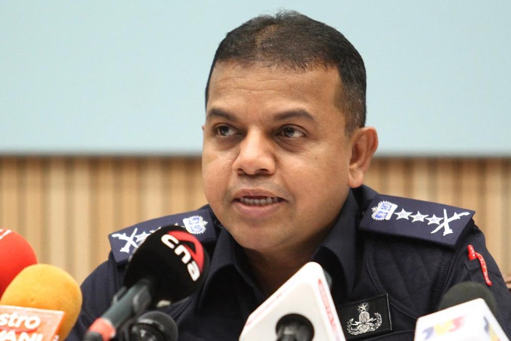 Johor police chief Datuk Ayob Khan Mydin Pitchay.