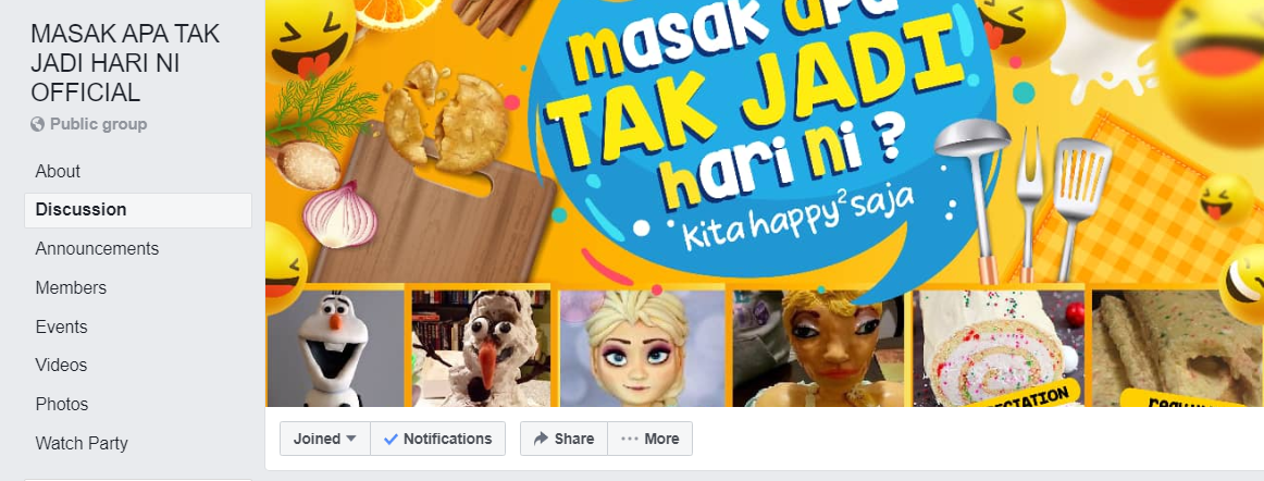 Image from Masak Apa Tak Jadi Hari Ni Official/Facebook