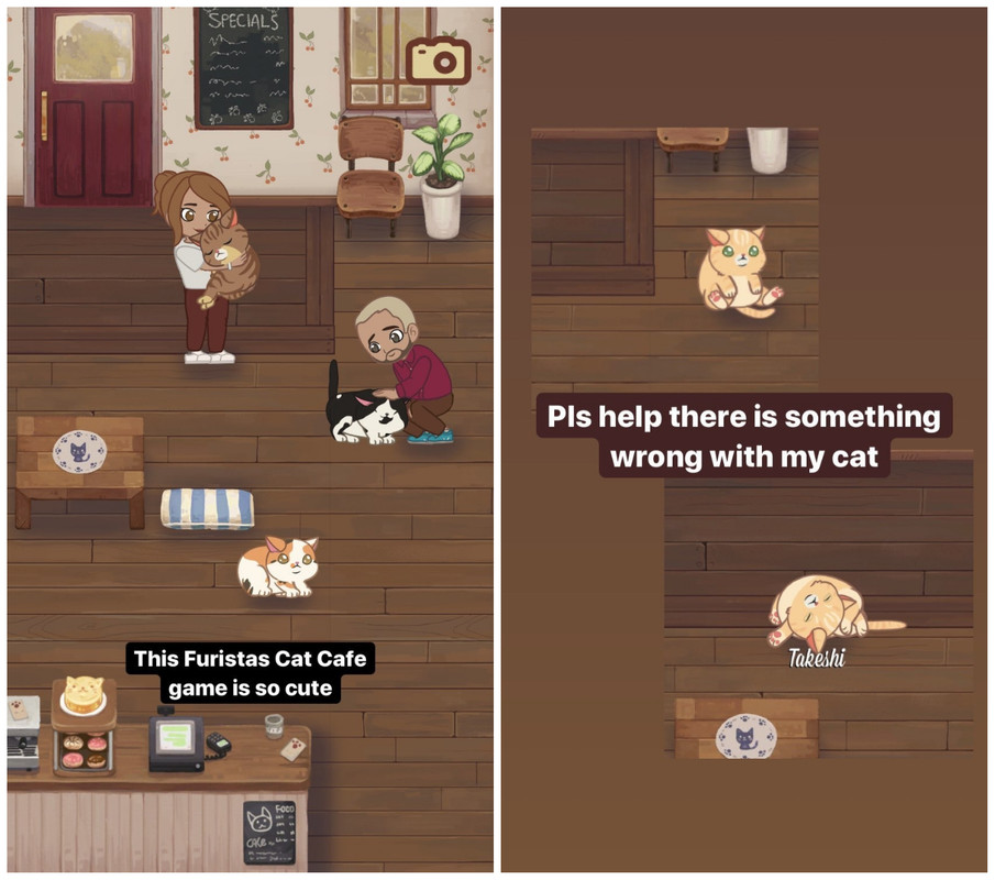Behold, my comments about playing 'Furistas Cat Cafe'.