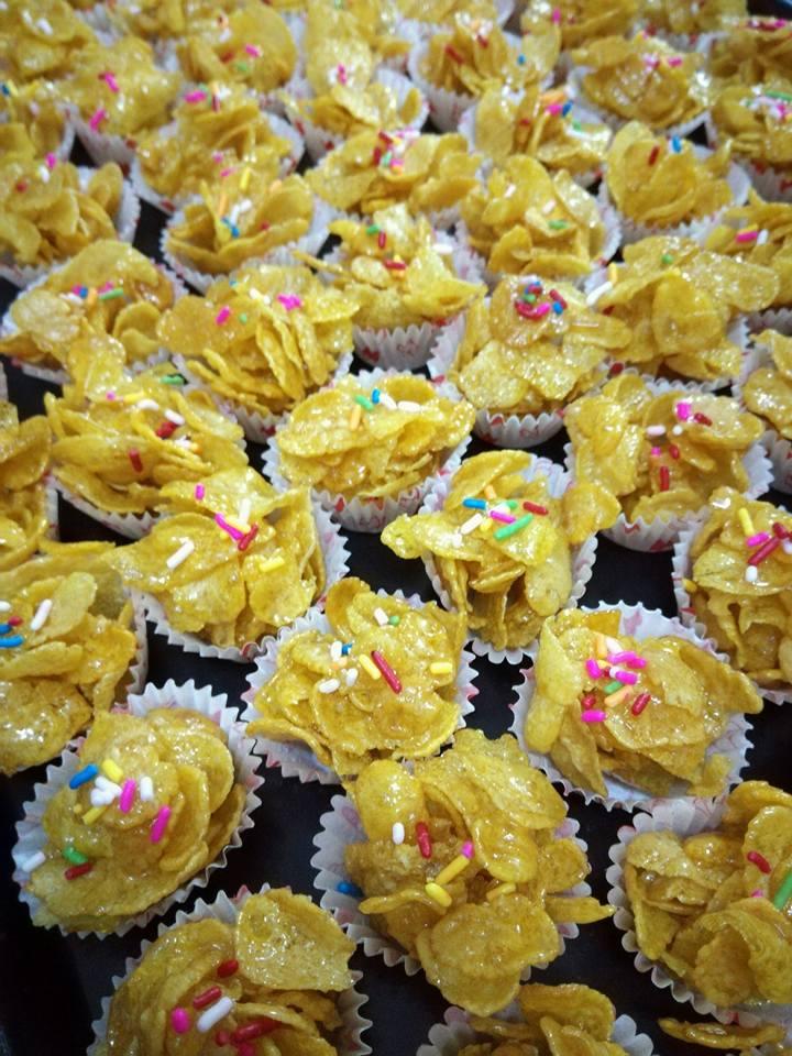resepi cornflakes madu rangup  bukan sahaja enak malah  mudah  dibuat Resepi Ikan Masak Stim Cara Thai Enak dan Mudah