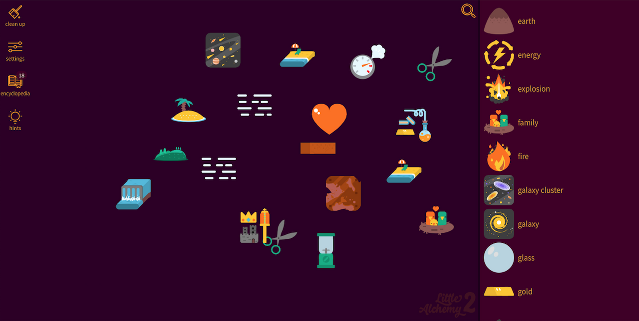 Image from Little Alchemy 2