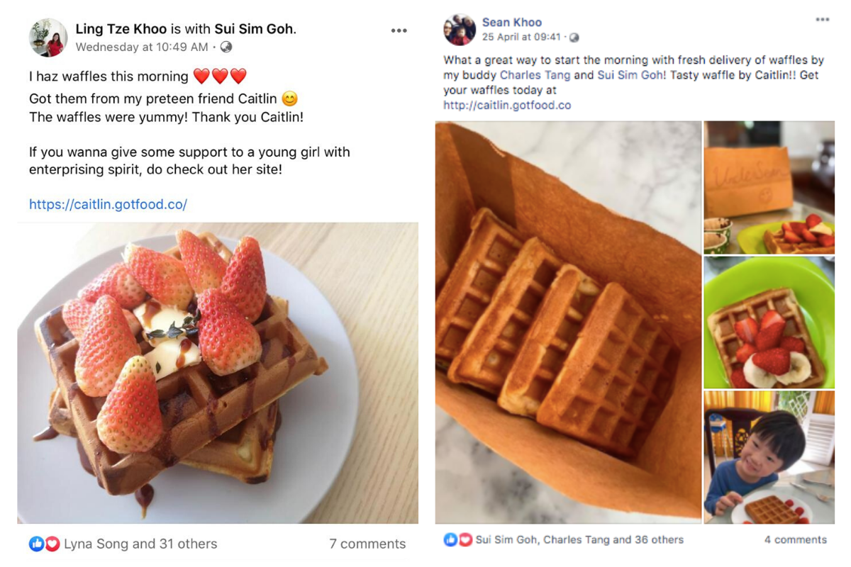 11-Year-Old Girl Is Selling Waffles During MCO To Raise Funds For ...