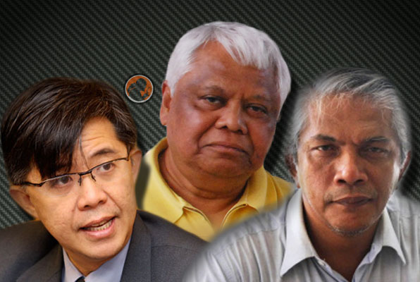 Saved by magistrate court: Haris Ibrahim, Tian Chua and Tamrin released
