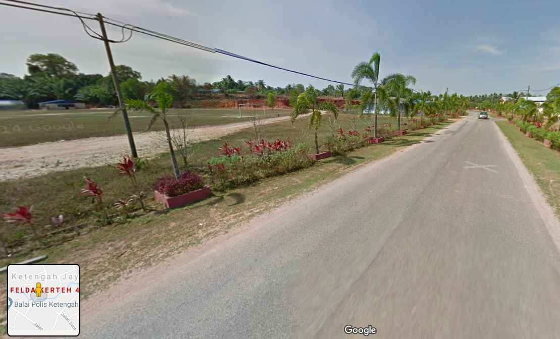 A Google street view an area near where the incident happened on Saturday.