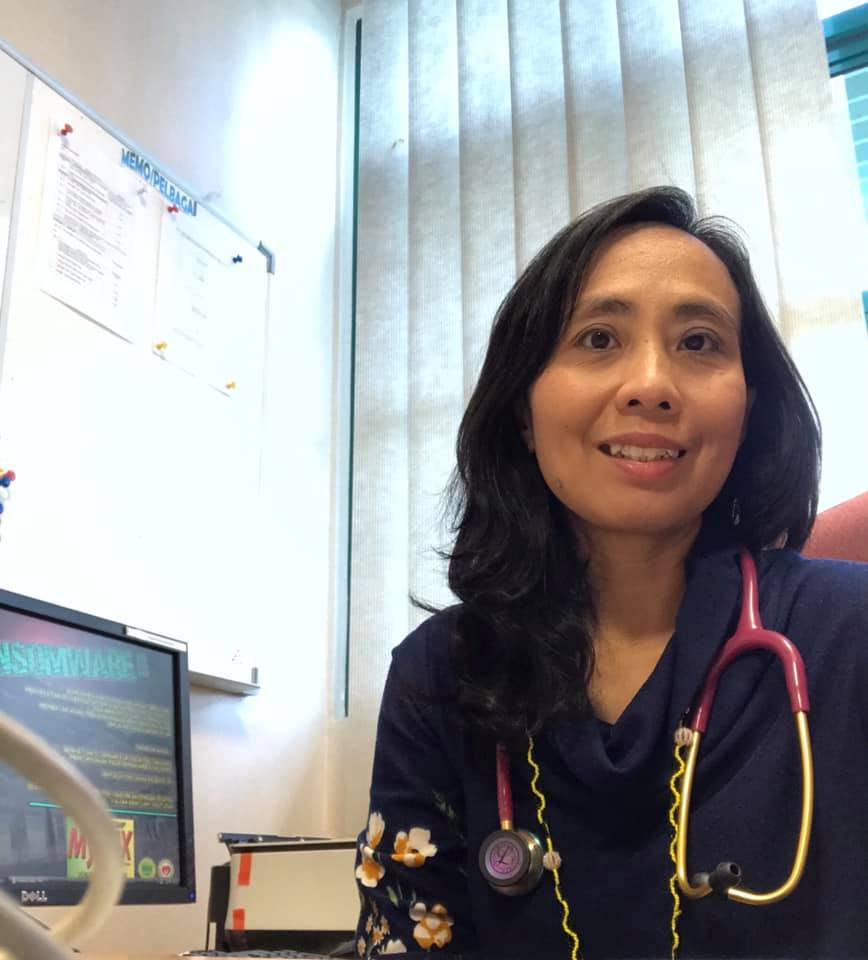 Dr. Rafidah Abdullah.