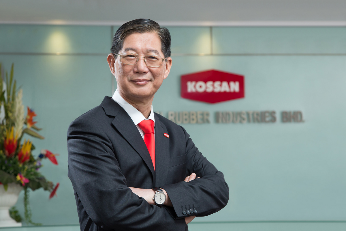Kossan Rubber's founder Lim Kuang Sia.
