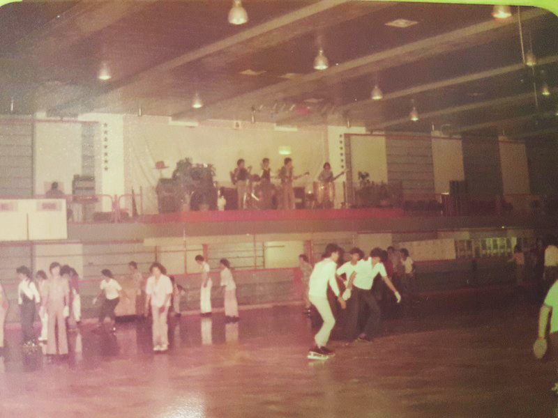 Roller skating ring at Sungei Wang Plaza in the 1970s.
