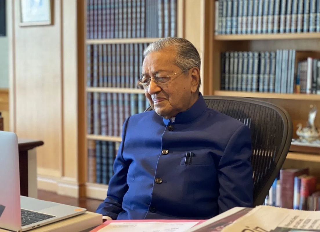 Former two-time prime minister Tun Dr Mahathir Mohamad.