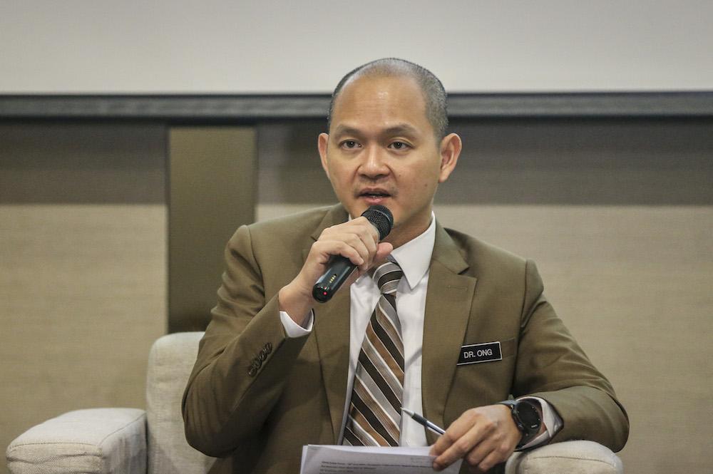 DAP's Bangi MP Ong Kian Ming.
