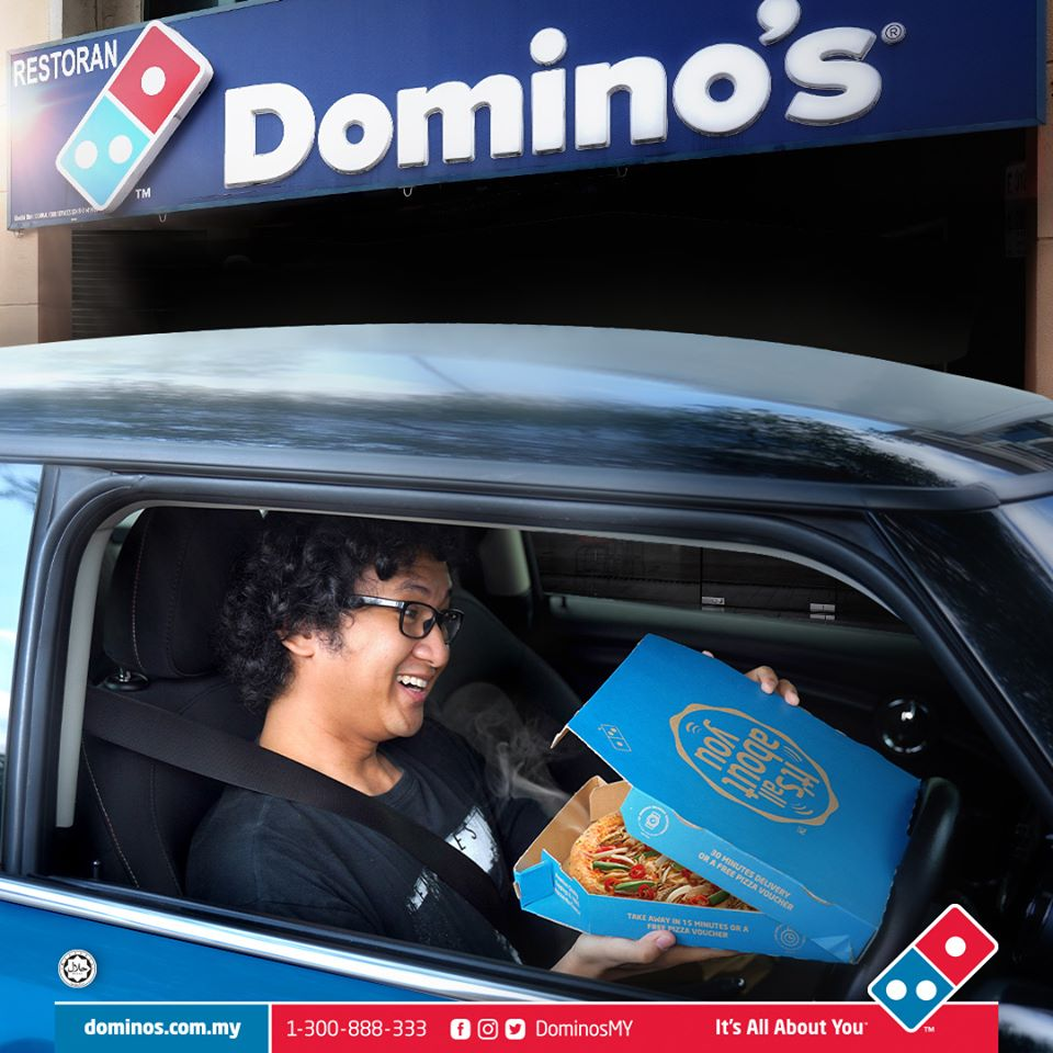 Image from Domino's Pizza Malaysia / Facebook