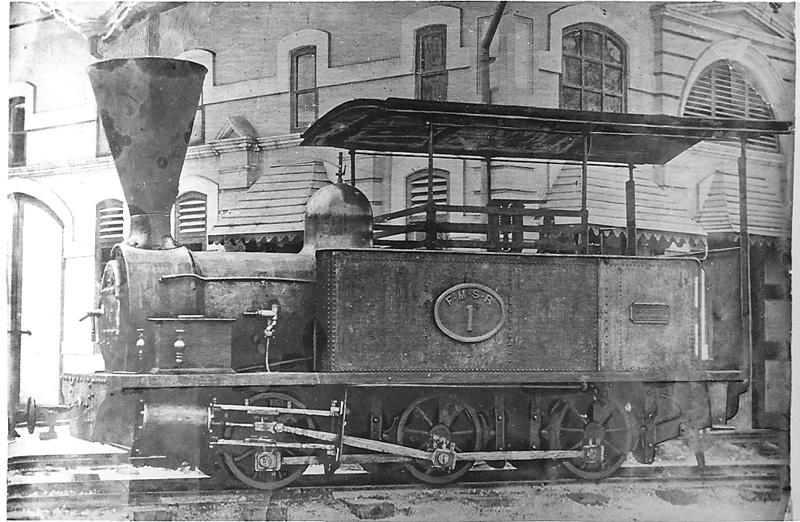 Image from Stephenson Locomotive Society/The Malayan Railway