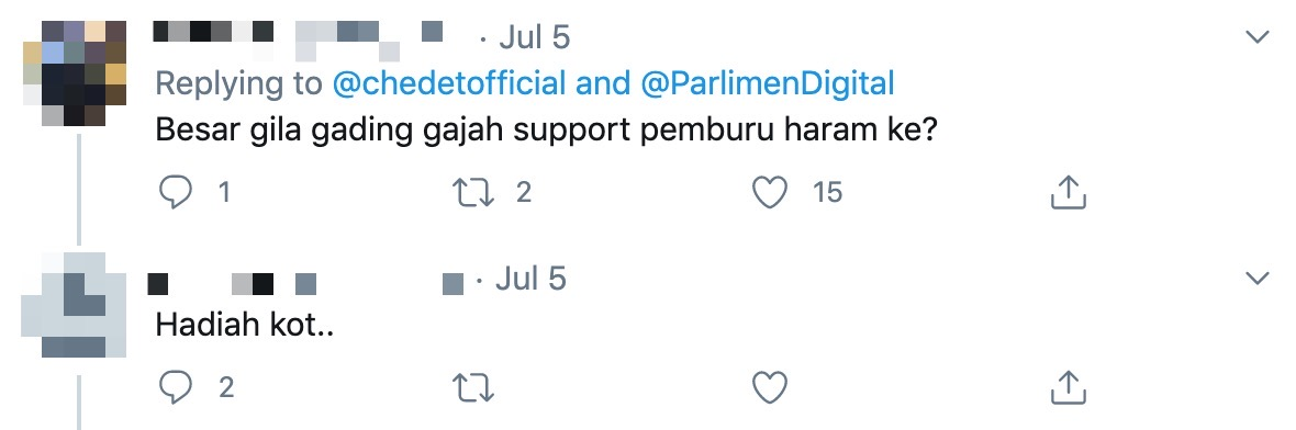Image from Twiter @chedetofficial