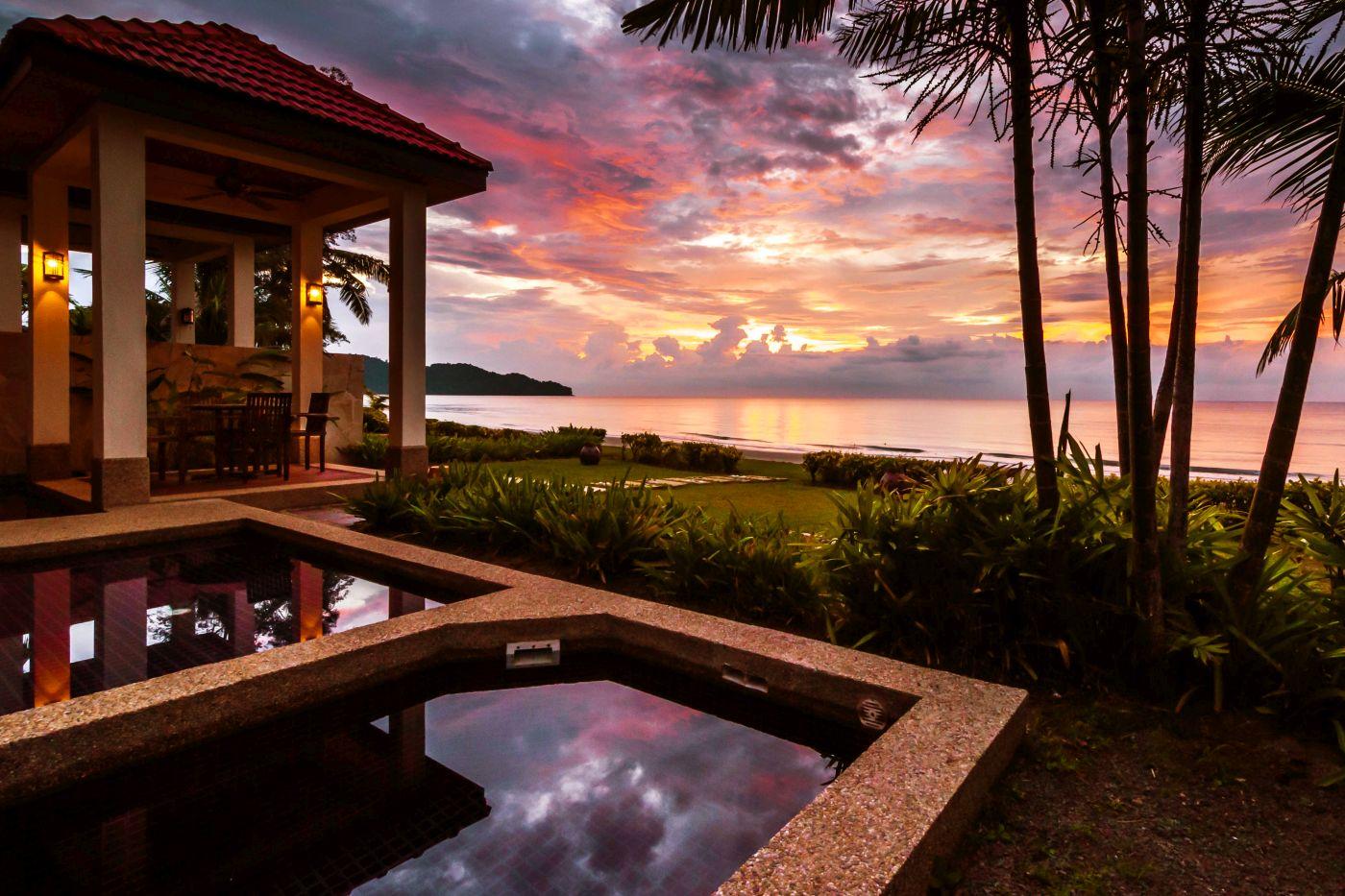Image from Borneo Beach Villas/Facebook