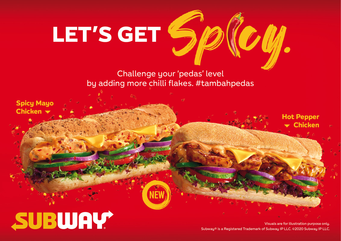 Image from Subway Malaysia