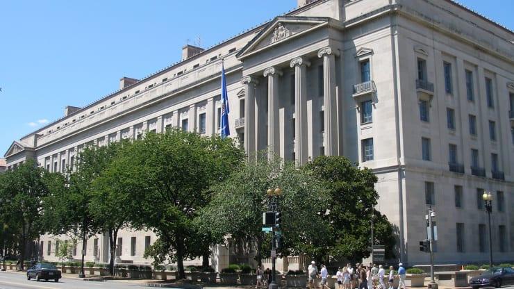 US Department of Justice, Washington, DC.
