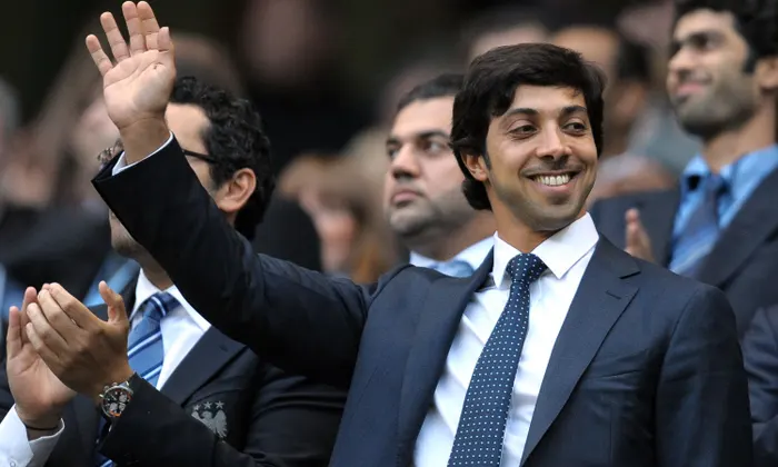 Sheikh Mansour Zayed Al Nahyan, UAE's deputy prime minister and the owner of Manchester City.