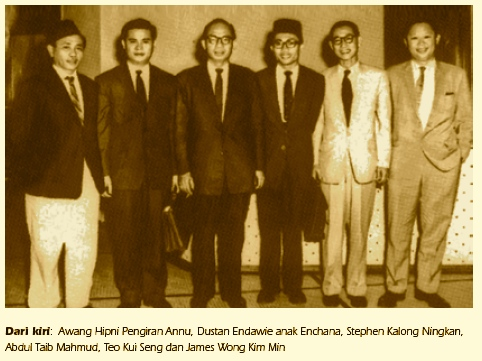 First ministerial cabinet of Sarawak.