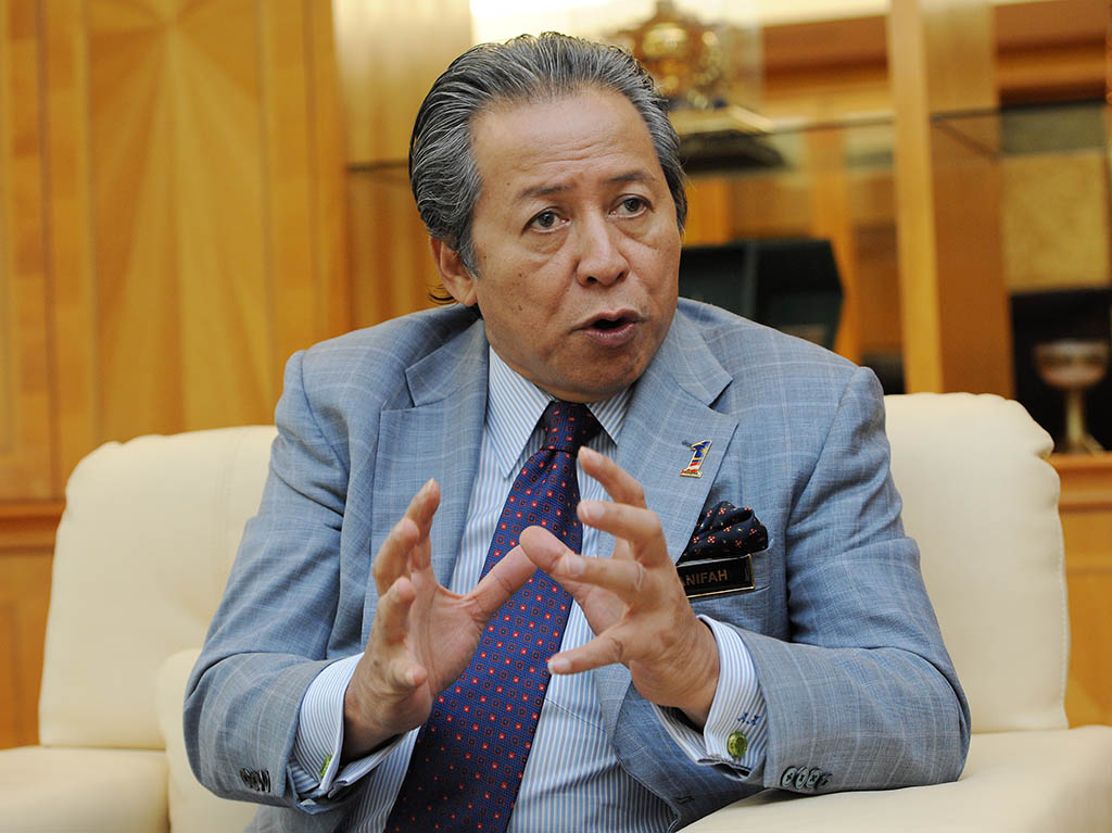 Former foreign minister Anifah Aman.