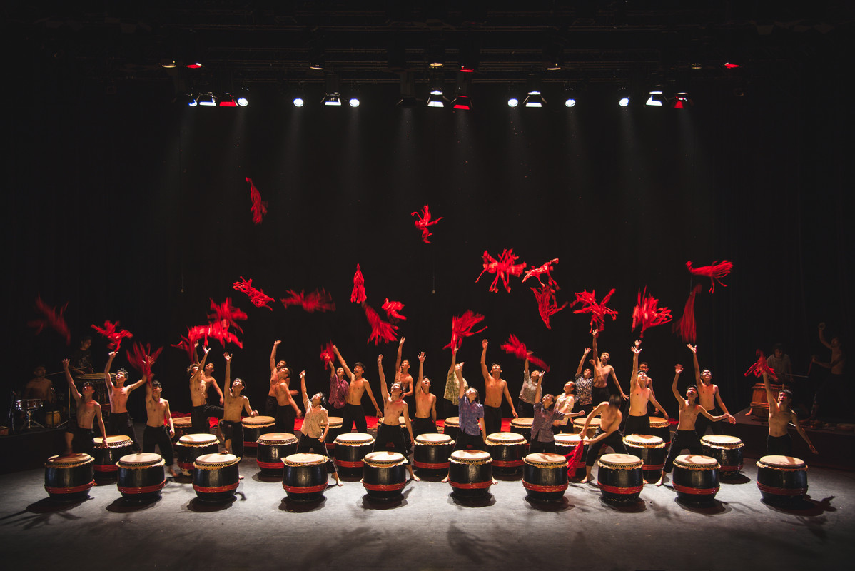 Image from Orang-orang Drum Theater