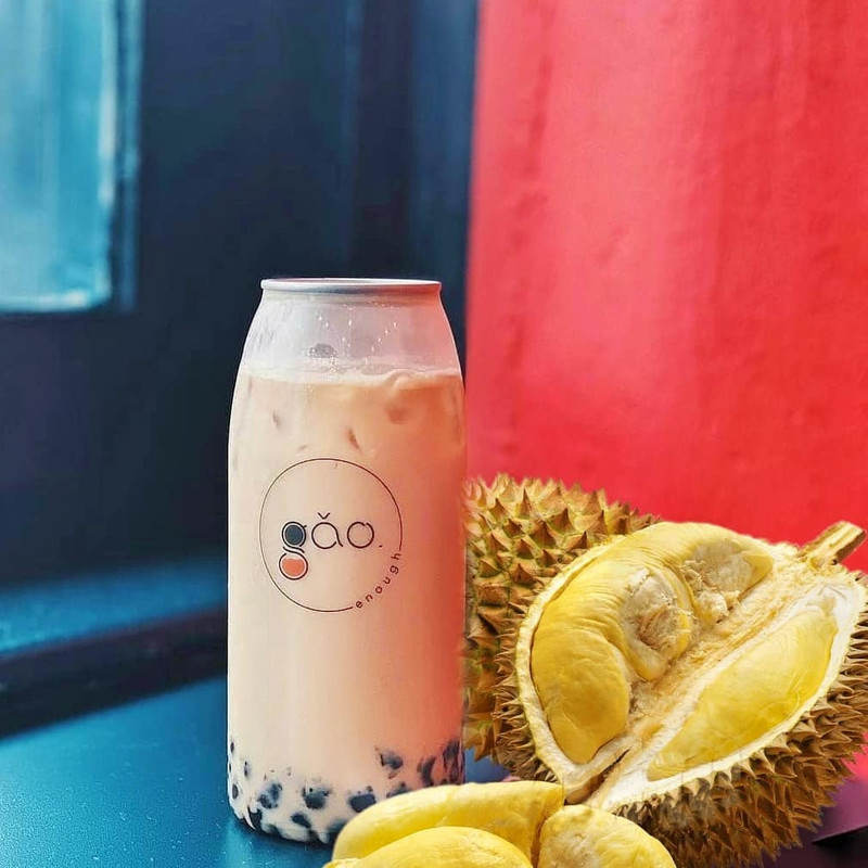 In April, they released the limited edition 'Durian Vanilla Milk Tea'.