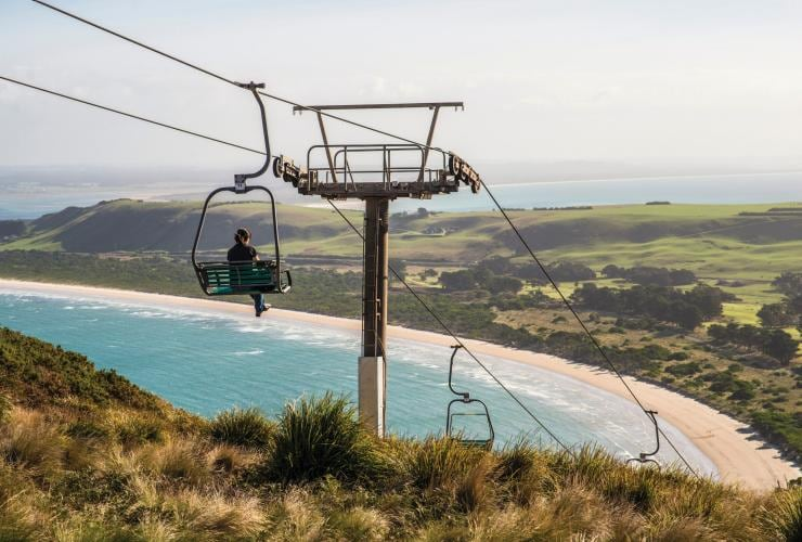 The Nut Chairlift, Stanley, Tasmania