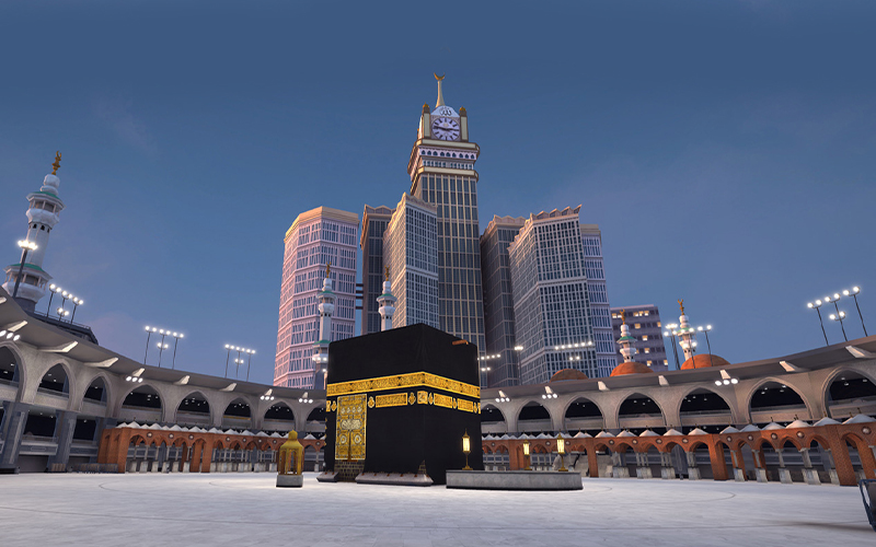 Image from Muslim 3D