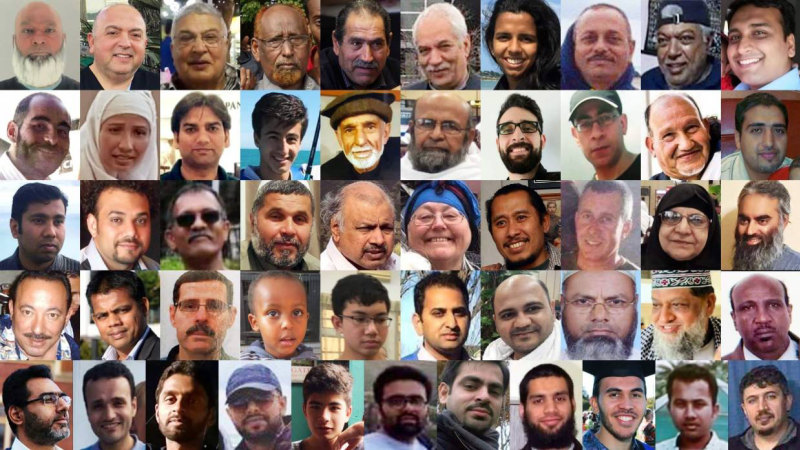 The victims of the Christchurch massacre.