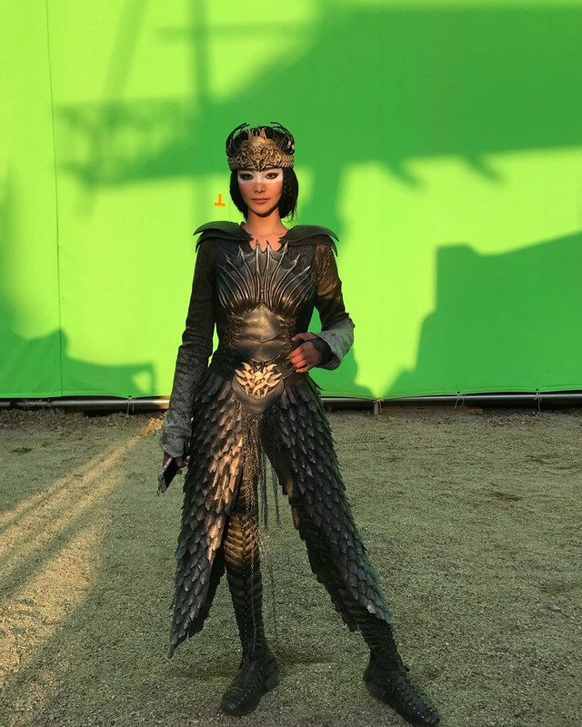 Check Out Photos Mulan S Gorgeous Stunt Double