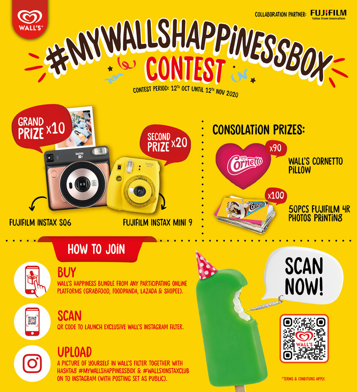 #MyWallsHappinessBox contest