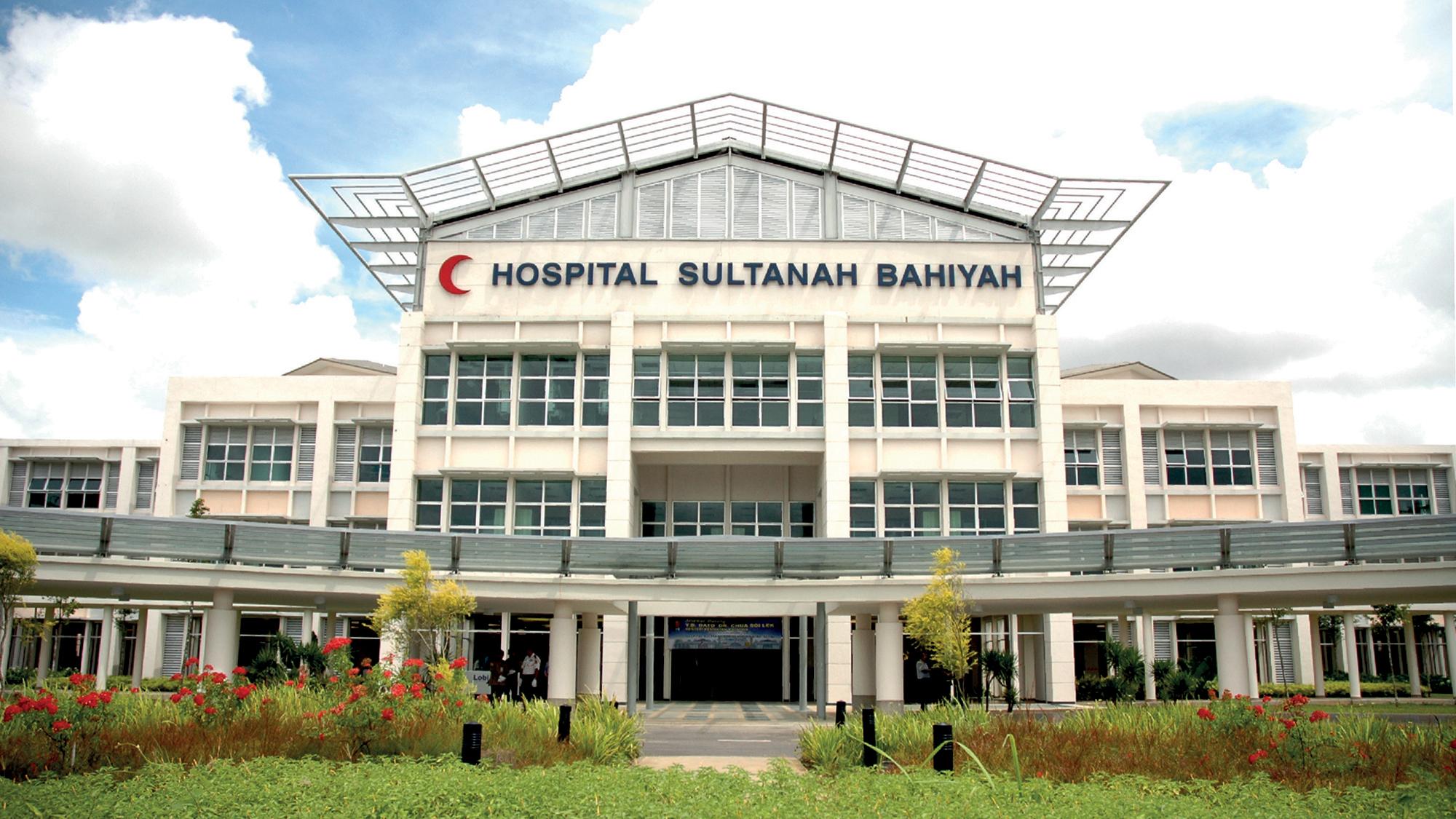 Sultanah Bahiyah Hospital, Alor Setar.