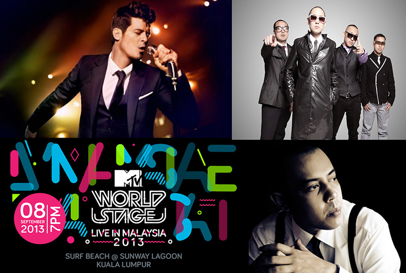 MTV World Stage Live in Malaysia 2013.