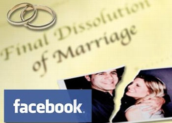 Facebook is getting infamous as a marriage killer- about one in five American divorces now involve Facebook, according to a new survey by the American Academy of Matrimonial Lawyers. Facebook was by far the biggest offender, with 66 per cent of lawyers citing it as the primary source of evidence in a divorce case.